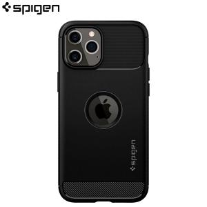 Spigen Rugged Armor Maskica za iPhone 12 Pro - Black