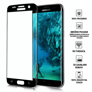 3D Zaobljeno Kaljeno Staklo za Galaxy S6 edge