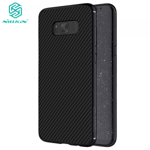 Nillkin Synthetic Fiber Maskica za Galaxy S8 Plus – Crna