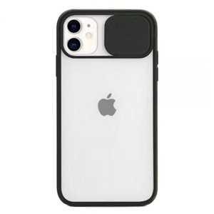 Prozirna Silikonska Maskica s zaštitom za kameru za iPhone 12 mini - Više boja