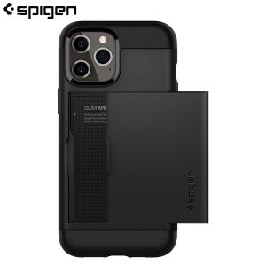 Spigen Slim Armor CS Maskica za iPhone 12 - Black