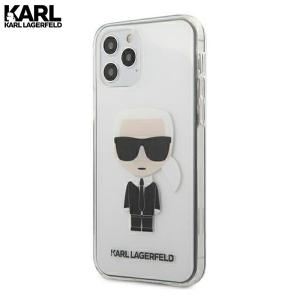 Karl Lagerfeld Transparent Ikonik maskica za iPhone 12