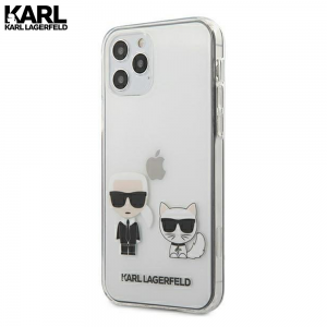 Karl Lagerfeld Karl & Choupette Transparent maskica za iPhone 11 Pro