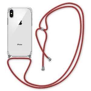 Silikonska Maskica s Vezicom za iPhone X/XS - Više boja