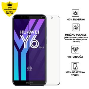 Kaljeno Staklo / Staklena Folija za Huawei Y6 2018