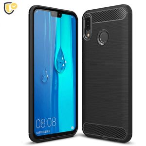 Silikonska Carbon Maskica za Y9 (2019) / Enjoy 9 Plus
