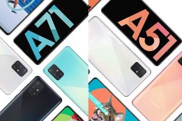Idealni mobiteli srednjeg cjenovnog ranga - Samsung Galaxy A51 & A71