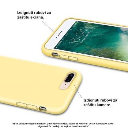 Silikonska Maskica u Više Boja za iPhone 5/5s/SE 35350