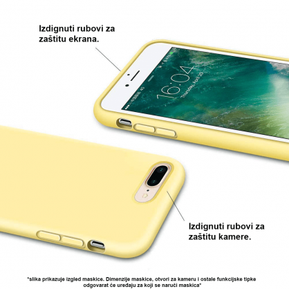 Silikonska Maskica u Više Boja za Galaxy Note 10 Plus 35005
