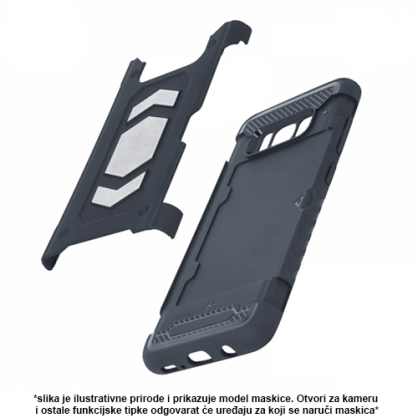 Defender Magnetic Silikonska Maskica za iPhone XS Max 40540