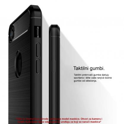 Silikonska Carbon Maskica za iPhone XS Max 39509