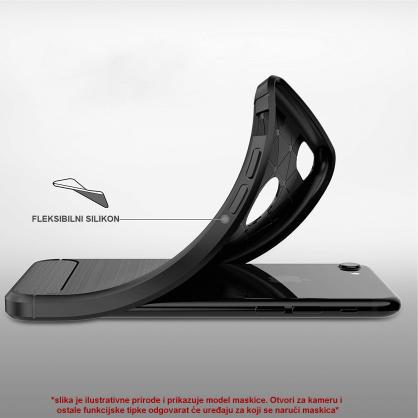 Silikonska Carbon Maskica za iPhone XS Max 39511