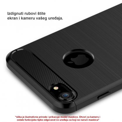 Silikonska Carbon Maskica za Galaxy Note 10 Plus 39378