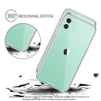 3D Obostrana Prozirna Maskica za Galaxy Note 8 34499