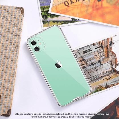 3D Obostrana Prozirna Maskica za iPhone X/XS 34563