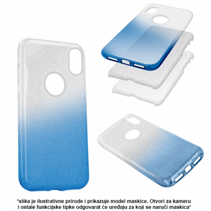 3u1 Dvobojna Maskica sa Šljokicama za Galaxy Note 10 Plus - Više boja 38367