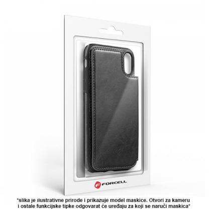 Futrola od Eko Kože sa Magnetom za iPhone XS Max - Crna 41326