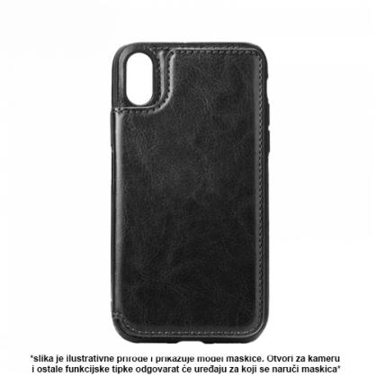 Futrola od Eko Kože sa Magnetom za iPhone XS Max - Crna 41324