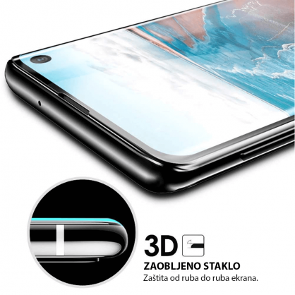 3D Zaobljeno Kaljeno Staklo za Galaxy Note 10 33732