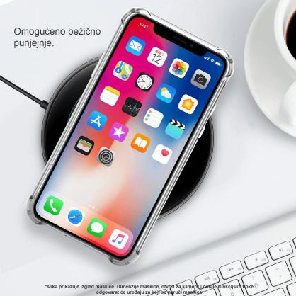 Silikonska Prozirna Anti-Shock Maskica za Galaxy A7 (2018) 35445