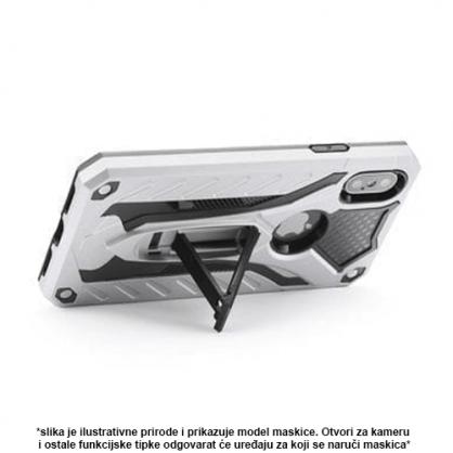 Srebrna Defender Stand Maskica za iPhone X/XS 36806