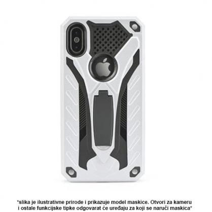Srebrna Defender Stand Maskica za iPhone X/XS 36807