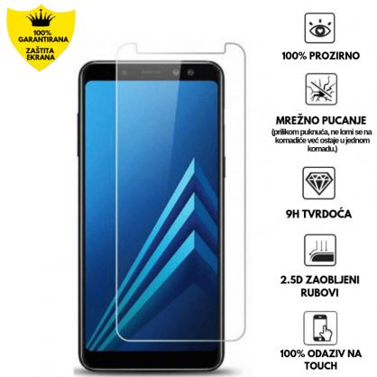 Kaljeno Staklo / Staklena Folija za Galaxy A7 (2018) 17163