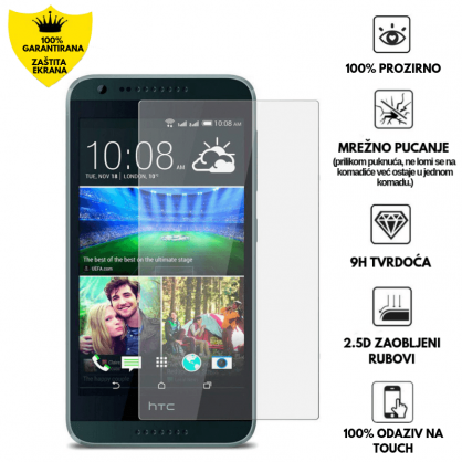 Kaljeno Staklo / Staklena Folija za HTC Desire 620 9520