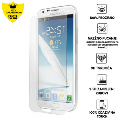 Kaljeno Staklo / Staklena Folija za Samsung Galaxy Note 2 12171