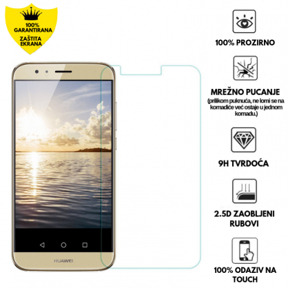 Kaljeno Staklo / Staklena Folija za Huawei Honor G8 10212