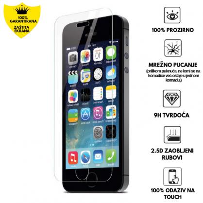 Kaljeno Staklo / Staklena Folija za Apple iPhone 5/5s/SE 9430