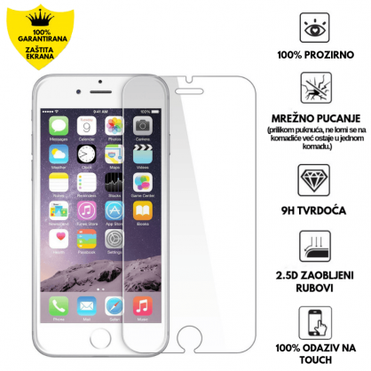 Kaljeno Staklo / Staklena Folija za Apple iPhone 6/6s 9448
