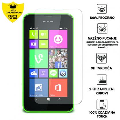 Kaljeno Staklo / Staklena Folija za Nokia Lumia 530 13140