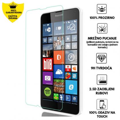 Kaljeno Staklo / Staklena Folija za Microsoft Lumia 640 9394