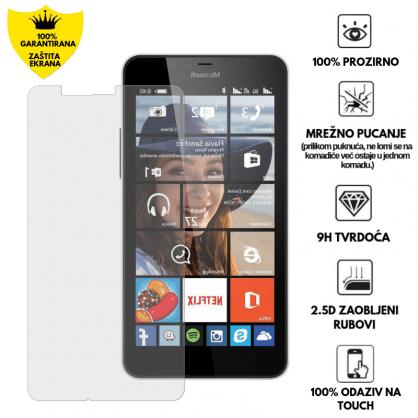 Kaljeno Staklo / Staklena Folija za Microsoft Lumia 640 XL 9403