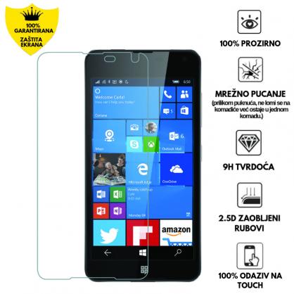 Kaljeno Staklo / Staklena Folija za Microsoft Lumia 650 9412
