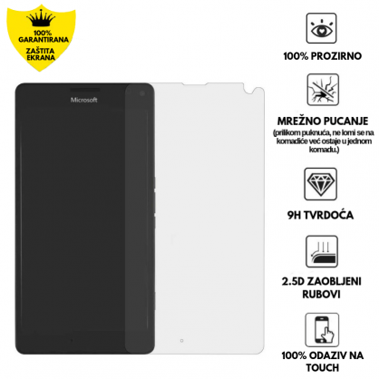 Kaljeno Staklo / Staklena Folija za Microsoft Lumia 950 XL 10238