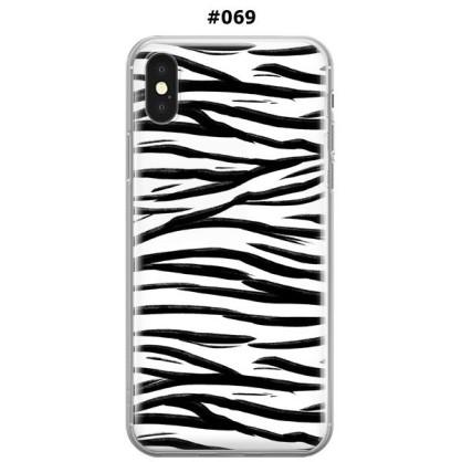 Silikonska Maskica za iPhone XS Max - Šareni motivi 69595