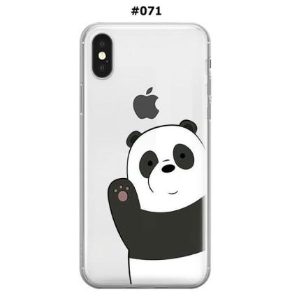 Silikonska Maskica za iPhone XS Max - Šareni motivi 69597