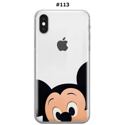 Silikonska Maskica za iPhone XS Max - Šareni motivi 69639