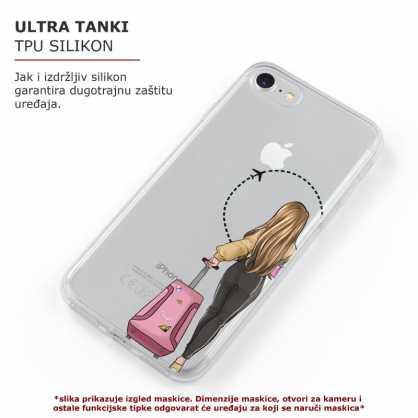 TPU Šarena Silikonska Maskica - ''Travel Girl Left'' - 002 44553