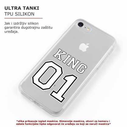 TPU Šarena Silikonska Maskica - ''King 1'' - 005 44563