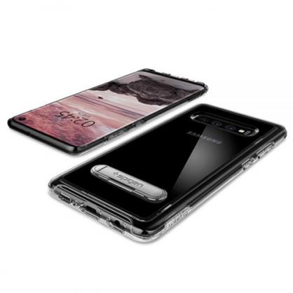 Spigen Crystal Hybrid Maskica za Galaxy S10 Plus - Crystal Clear 42316