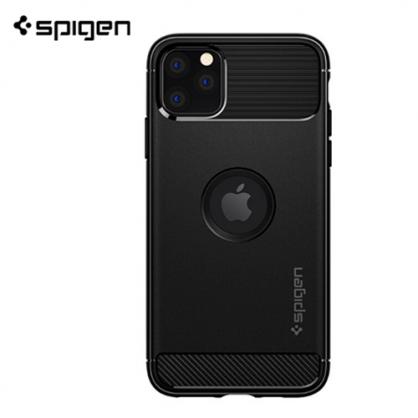 Spigen Rugged Armor Maskica za iPhone 11 Pro - Crna 42392