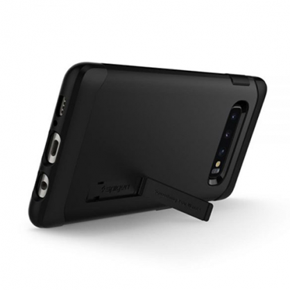 Spigen Slim Armor Maskica za Galaxy S10 Plus - Black 42320