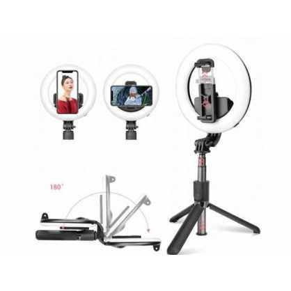 Bluetooth Selfie Stick i tronozac (tripod) s Lampom 131547