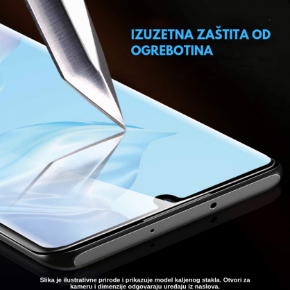 3D Anti Spy kaljeno staklo / Staklena Folija za privatnost za Iphone 12 Mini 125305