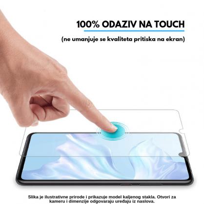 3D Anti Spy kaljeno staklo / Staklena Folija za privatnost za Iphone 12 Pro 125297