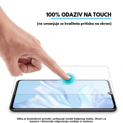 3D Anti Spy kaljeno staklo / Staklena Folija za privatnost za Iphone 12 Mini 125307