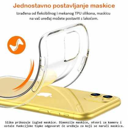 Ultra tanka Prozirna Silikonska maskica za Desire 10 Lifestyle 127453